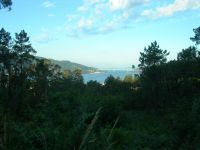 Ria de Vigo a la salida de Redondela