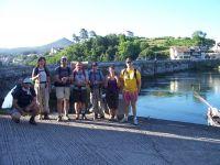 Grupo en Ponte Sampaio