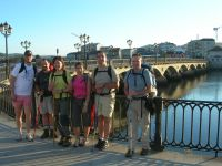 Saliendo de Pontevedra